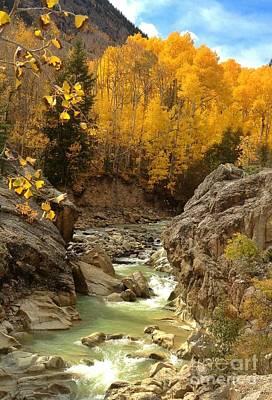 In The Rockies Art Print by Phil Huettner