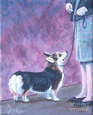Painting - In The Show Ring IIi by Ann Becker