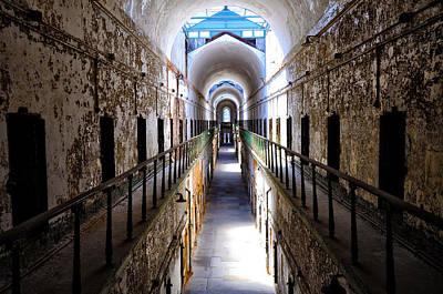 Penitentiary Digital Art - In The Slammer by Bill Cannon