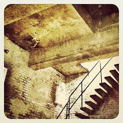 In The Tower Of The #church In #venray Art Print