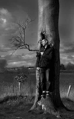 Photograph - In The Tree by Gabi Dziok-Grubb