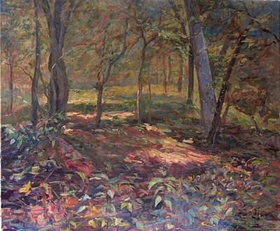 Gambrills Painting - In The Woods  by Jeanean Martin