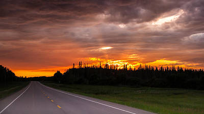 Photograph - In To The Sunset by Darren Langlois