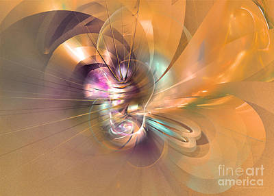 Digital Art - In Your Arms by Sipo Liimatainen