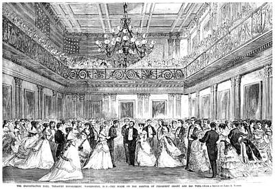Inaugural Ball, 1869 Art Print by Granger