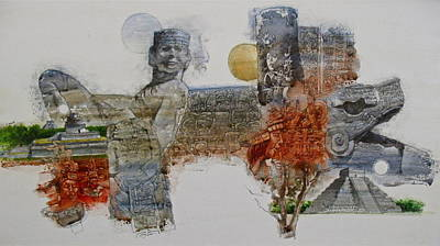 Painting - Inca by Cliff Spohn