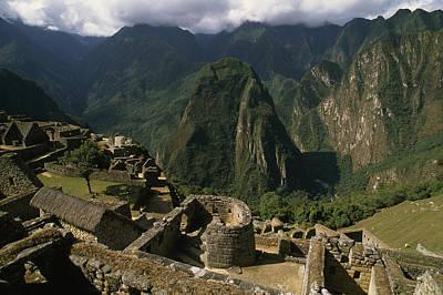 Inca Ruins At Machu Picchu Are Biggest Art Print by Gordon Wiltsie
