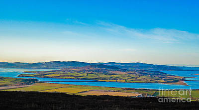 Inch Island County Donegal Ireland Art Print by Black Sun Forge