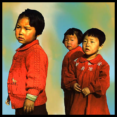 Painter Digital Art - Inchon Kids Of '54 by Dale Stillman