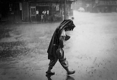 Photograph - Inchon Monsoon 1955 by Dale Stillman