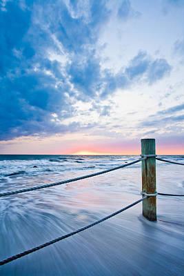 Incoming Tide Art Print by Adam Pender