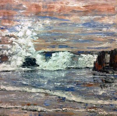 Incoming Tide Painting - Incoming Tide by Stephen Brewer