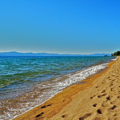Photograph - Incredible Lake Tahoe Looking North by Kirsten Giving