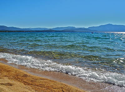 Photograph - Incredible Lake Tahoe Looking South by Kirsten Giving
