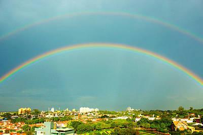 Campinas Photograph - Incredible Rainbow by Wagner Macedo