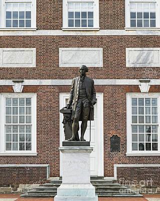 Independence Hall Philadelphia Art Print by John Greim