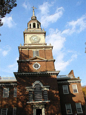 Independence Hall Art Print by Rick Thiemke