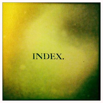 Index Art Print by Betse Ellis