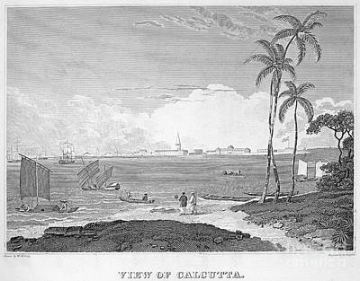 India: Calcutta, C1830 Art Print by Granger