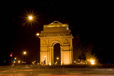 Entrance Memorial Photograph - India Gate by © Deepak Bhatia