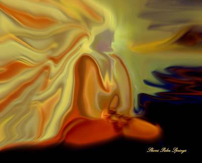 Higher Selves Digital Art - India Guru In Meditation by Sherri's Of Palm Springs