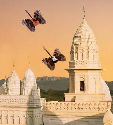 Digital Art - India Rocks by Eric Kempson