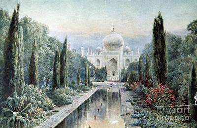 Photograph - India: Taj Mahal by Granger