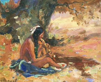 Painting - Indian Autumn by Pg Reproductions