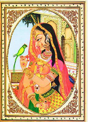 Indian Digital Art - Indian Empress by Sumit Mehndiratta