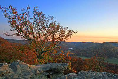 Berea Wall Art - Photograph - Indian Fort West Pinnacle by Christopher Hignite
