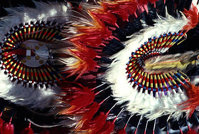 Art Print featuring the photograph Indian Headdress by Tom Wurl