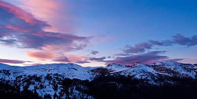 Indian Peaks Twilight Original by Adam Pender
