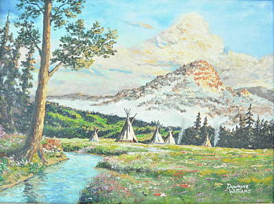Painting - Indian Spring by Duwayne Williams