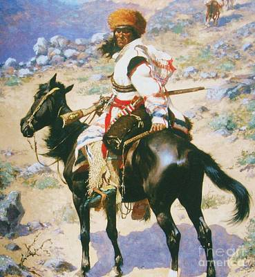 Painting - Indian Trapper by Roberto Prusso