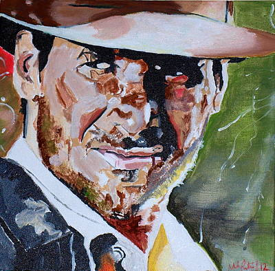 The Crusades Painting - Indiana Jones by Martin Putsey