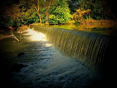 Indiana Waterfall Print by Joyce Kimble Smith