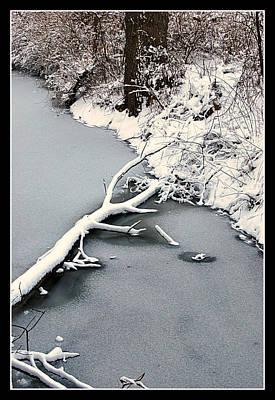 Photograph - Indiana Winter by Lora Mercado