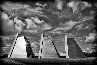 Photograph - Indianapolis Pyramids 3 by David Haskett II