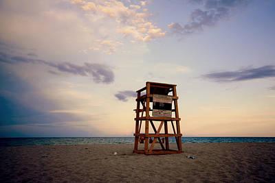 Photograph - Indiatlantic Beach In Color by Laura DAddona