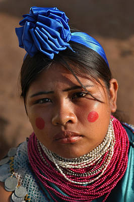 Indigenous Guarani Women. Department Of Santa Cruz. Republic Of Bolivia.    Art Print by Eric Bauer