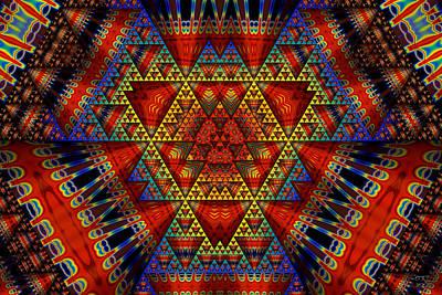 Digital Art - Indigenous Wisdom by Manny Lorenzo