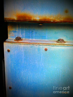 Photograph - Industrial Abstract by Eena Bo