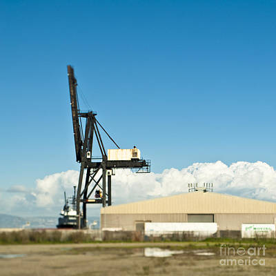Dogpatch Photograph - Industrial Building And Shipping Crane by Eddy Joaquim