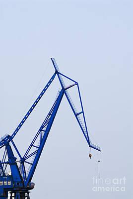 Industrial Crane Print by Sam Bloomberg-rissman