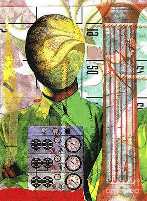 Mixed Media - Industrial Nerd by Bill Thomson