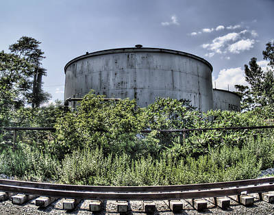 Photograph - Industrial Tank by Tammy Wetzel