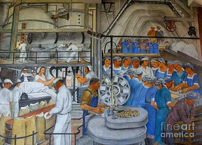 Depression Painting - Industries Of California by Pg Reproductions