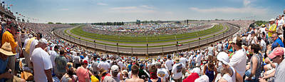 Photograph - Indy 500  Race Day by Semmick Photo