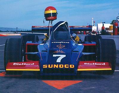 Photograph - Indy Race Car by David Campione
