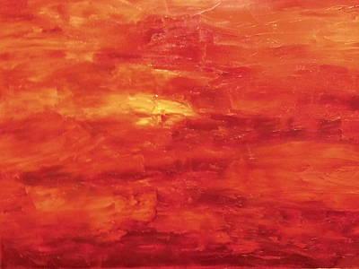 Oil Painting - Inferdante by DM Lane